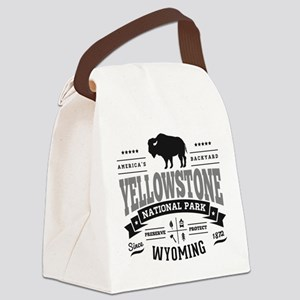 Yellowstone Vintage Canvas Lunch Bag