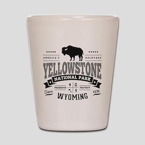 Yellowstone Vintage Shot Glass