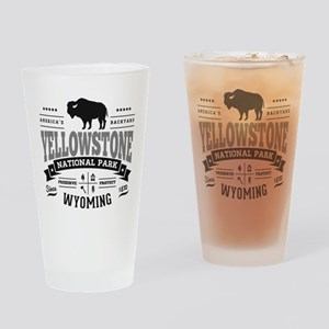 Yellowstone Vintage Drinking Glass