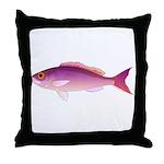 Crimson Jobfish Opakapaka Throw Pillow