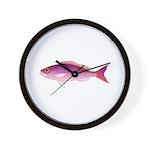 Crimson Jobfish Opakapaka Wall Clock