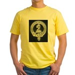Wilson Badge on Yellow T-Shirt