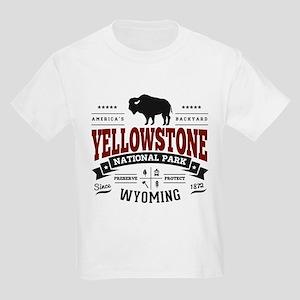 Yellowstone Vintage Kids Light T-Shirt