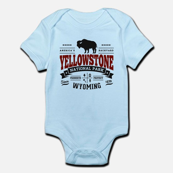 Yellowstone Vintage Infant Bodysuit