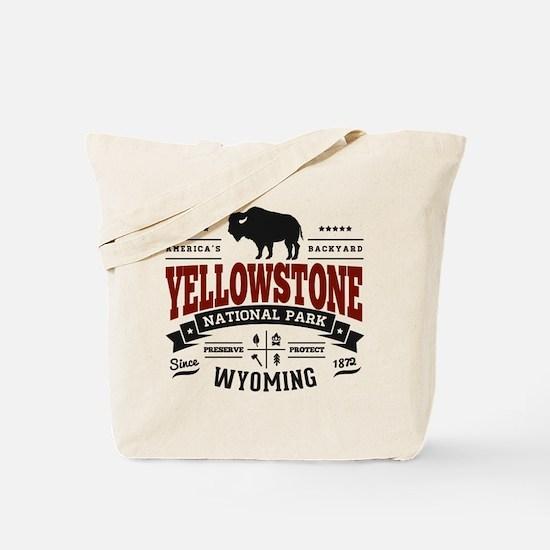 Yellowstone Vintage Tote Bag