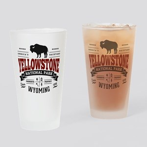 Yellowstone Vintage Drinking Glass