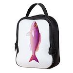 Crimson Jobfish Opakapaka c Neoprene Lunch Bag