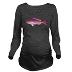 Crimson Jobfish Opakapaka c Long Sleeve Maternity