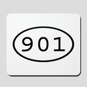 901 Oval Mousepad