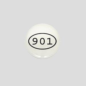 901 Oval Mini Button
