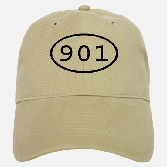 901 Oval Baseball Baseball Cap