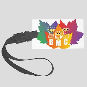 BMC Autumn Owls Large Luggage Tag
