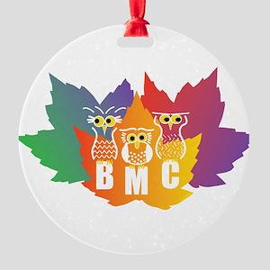 BMC Autumn Owls Round Ornament