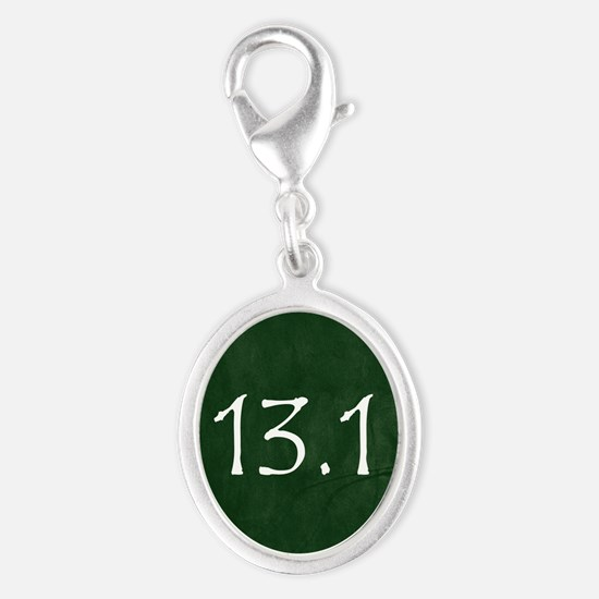 Green 13.1 Hexagon Charms