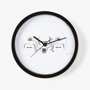 """""""Three Cellos"""" Wall Clock"""