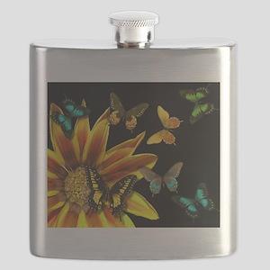 Butterfly Gardens Flask