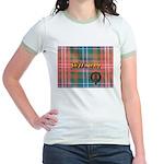 Wilson Tartan & Badge Jr. Ringer T-Shirt