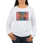 Wilson Tartan & Badge Women's Long Sleeve T-Shirt