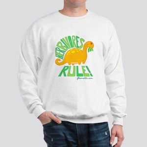 Herbivores Rule! Sweatshirt