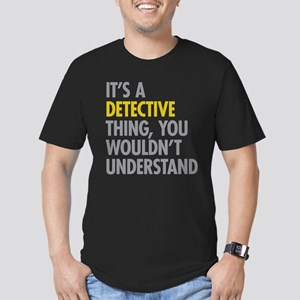Its A Detective Thing Men's Fitted T-Shirt (dark)