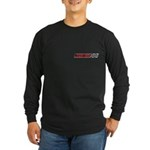 Men's Long Sleeve Dark T-Shirt - Small Logo