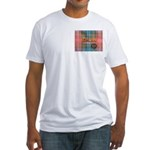 Wilson Tartan & Badge Fitted T-Shirt