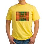Wilson Tartan & Badge Yellow T-Shirt