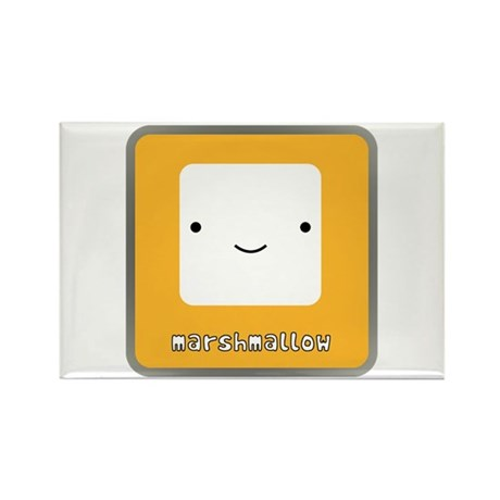 Marshmallow Rectangle Magnet (100 pack)