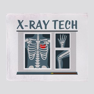 X-Ray Tech Throw Blanket