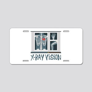 X-Ray Vision Aluminum License Plate