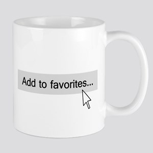 Add to Favorites Computer Mouseover Mugs
