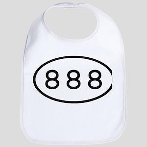 888 Oval Bib