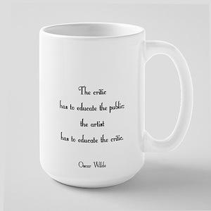 The Critic has to... Large Mug