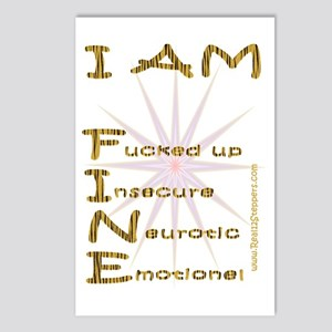 I am fine Postcards (Package of 8)