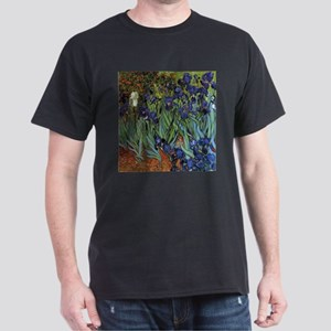 VAN GOGH IRISES Dark T-Shirt