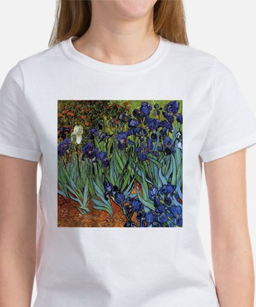 VAN GOGH IRISES Women's T-Shirt