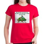 Irish Powered Women's Dark T-Shirt