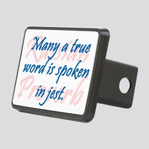 Many a True Word Hitch Cover