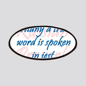 Many a True Word Patch