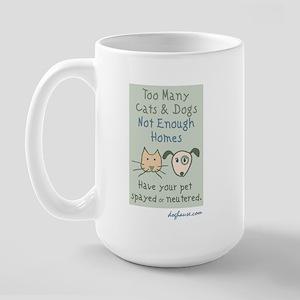 Not Enough Homes Large Mug