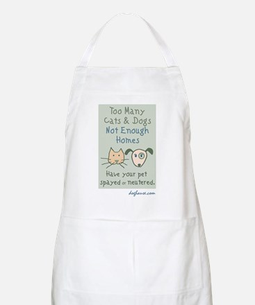 Not Enough Homes BBQ Apron