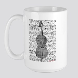 """Sheet Music"" Large Mug"
