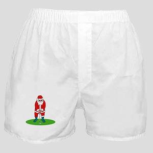 Santa plys golf Boxer Shorts