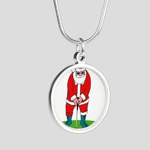 Santa plys golf Necklaces