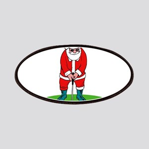 Santa plys golf Patches
