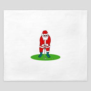 Santa plys golf King Duvet