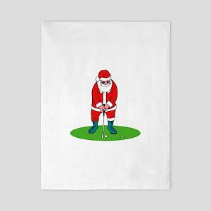 Santa plys golf Twin Duvet