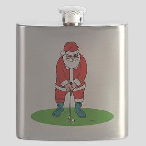 Santa plys golf Flask