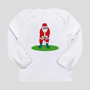 Santa plys golf Long Sleeve T-Shirt