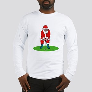 Santa plys golf Long Sleeve T-Shirt